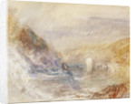 Falls of the Rhine at Schaffhausen, Side View by Joseph Mallord William Turner