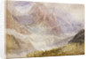 Monte Rosa (or the Mythen, near Schwytz) by Joseph Mallord William Turner