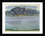 Lake Thun and the Stockhorn Mountains by Ferdinand Hodler