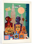 Wittgenstein in New York. From As is when by Eduardo Paolozzi