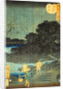 Night Rain at Makura-bashi by Utagawa Hiroshige II