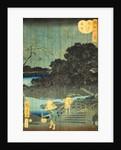Night Rain at Makura-bashi by Utagawa Hiroshige II