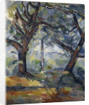 The Big Trees by Paul Cezanne
