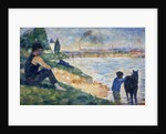 A Study for 'Une Baignade' by Georges Seurat