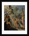 The Stoning of Saint Stephen by Adam Elsheimer