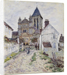 The Church at Vétheuil by Claude Monet