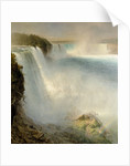 Niagara Falls, from the American Side by Frederic Edwin Church