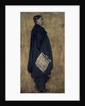 Charles Rennie Mackintosh, 1869 - 1928. Architect (study for group portrait The Building Committee of the Glasgow School of Art in the collection of Glasgow School of Art) by Francis Henry Newbery