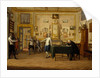 Kenneth Mackenzie, 1st Earl of Seaforth 1744 - 1781 at home in Naples: fencing scene by Pietro Fabris
