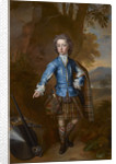 John Campbell, 3rd Earl of Breadalbane, 1696 - 1782. (as a child in highland costume) by Charles Jervas