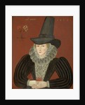 Esther Inglis, 1571 - 1624. Calligrapher and miniaturist by unknown
