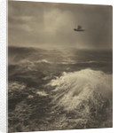 Flying Boat Over Sea by Alfred G. Buckham