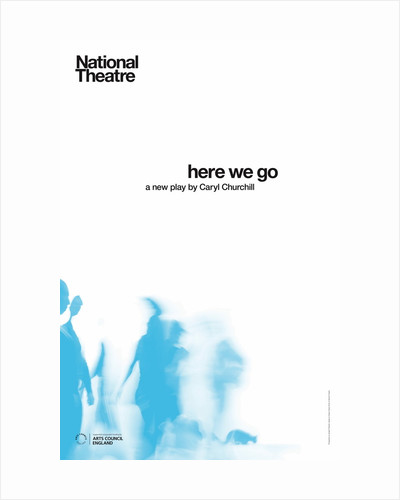 Here We Go by National Theatre Graphics Design Studio