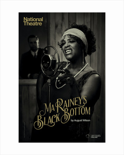 Ma Rainey's Black Bottom by National Theatre Graphics Design Studio