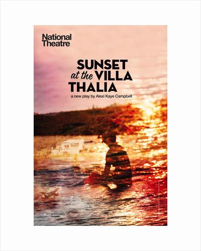 Sunset at the Villa Thalia by Graphic Design Studio