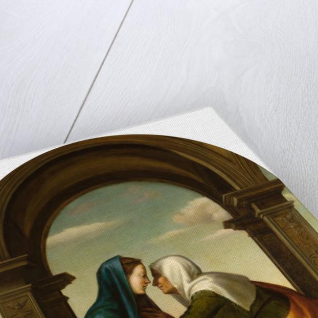 The Visitation by Angiolo Romagnoli