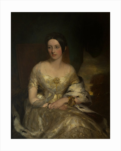 Lady Susan Hamilton (d.1891), Daughter of Alexander, 10th Duke of Hamilton by Francis Grant