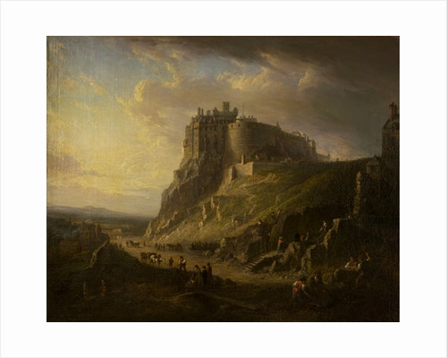 View of Edinburgh Castle by Alexander Nasmyth