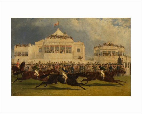 The Race for the Emperor of Russia's Cup at Ascot, 1845 by John Frederick Herring Senior