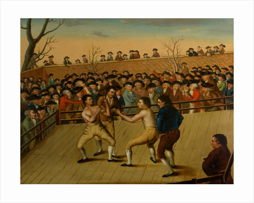 The Fight between Jackson and Mendoza at Hornchurch, 1795 by English School