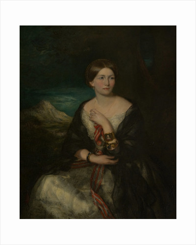 Princess Marie of Baden (d.1888), Daughter of Charles Louis Frederick, Prince of Baden by Francis Grant