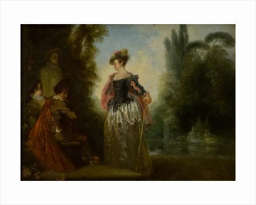 L'Aventuriere by Antoine Watteau