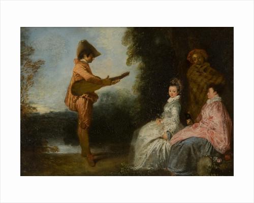 L'Enchanteur by Antoine Watteau