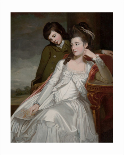 Jane, Duchess of Gordon and her Son, George by George Romney