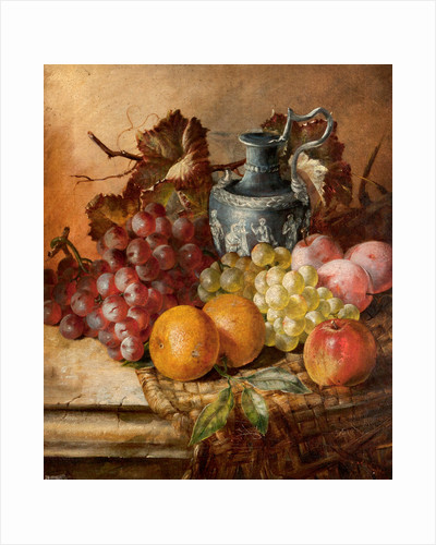 Fruit and a Wedgwood vase by A. M. Gautier