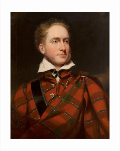 Earl of Caithness, half length, in highland dress by Sir John Watson-Gordon