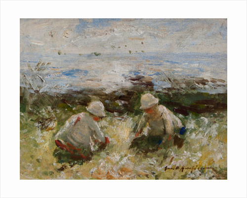 On the Bents, Carnoustie by Robert Gemmell Hutchinson