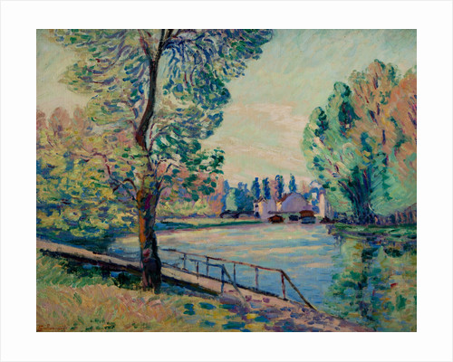 The Jetty by Armand Guillaumin