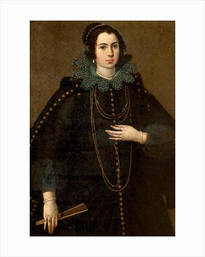 Portrait of a woman by Jacob Sustermans