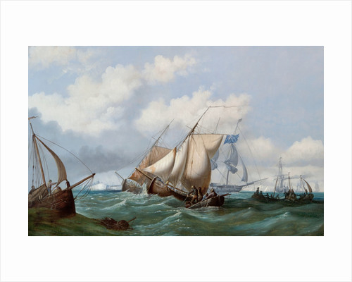 Shipping off Dover by John Wilson Ewbank