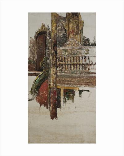 A Balustrade, Mandalay by Edward Atkinson Hornel