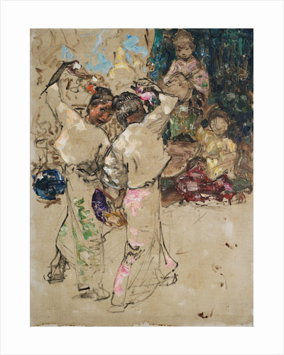 Figure studies by Edward Atkinson Hornel