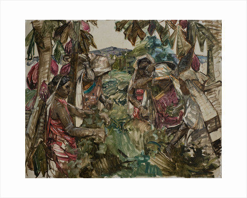 Ceylonese Tea Pickers, by Edward Atkinson Hornel