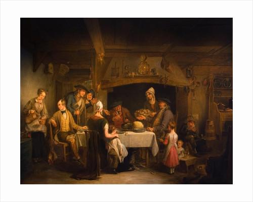 The Haggis Feast, c.1840 by Alexander Fraser