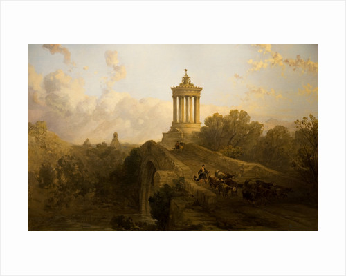 The Brig o' Doon and Burns Monument, 1862 by David Roberts
