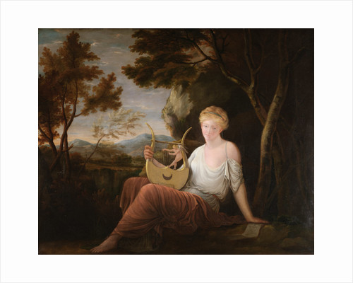 Woman with a Lyre by Gavin Hamilton