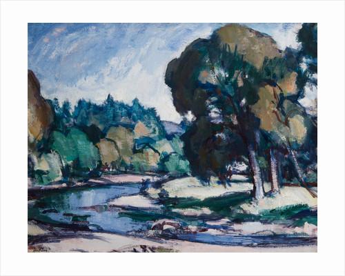 Landscape near Calvine by Samuel John Peploe