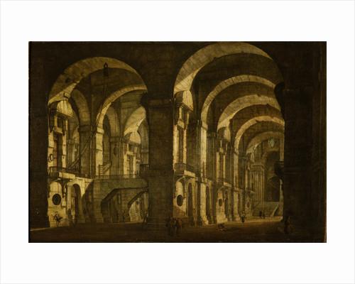 A Prison Interior by Giovanni Paolo Panini