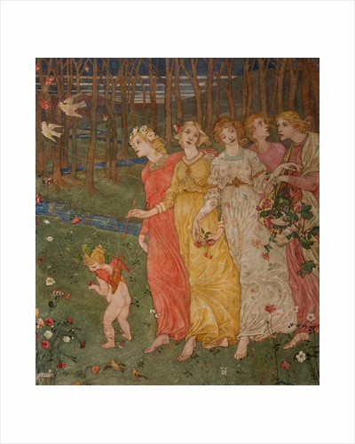 Cupid's Darts by Phoebe Anna Traquair