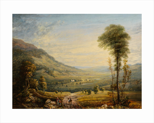 View with Leith Hall by John Varley I