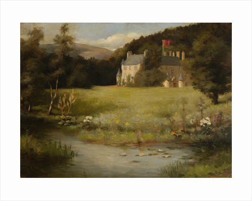 View of Leith Hall from the South East 1907 by J. E. Hay