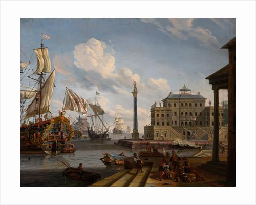 Seaport by Abraham Jansz Storck