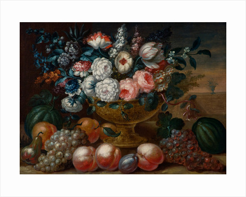 Still Life with Flowers in a Vase by Dutch School