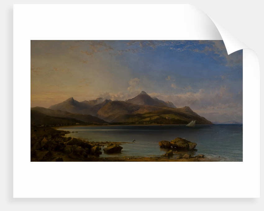 View of Brodick Bay, 1857 by George Edwards Hering