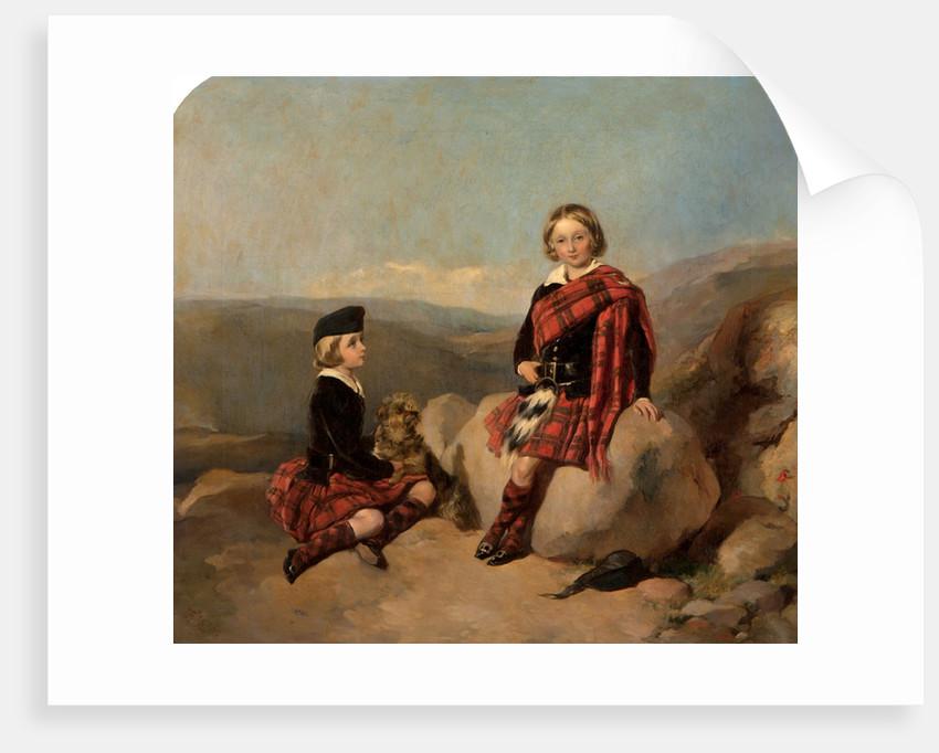 George and Hugh Brodie 92.2x99 by James Currie