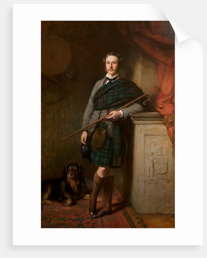 Hugh Brodie, 23rd laird by James Maclaren Barclay